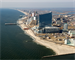 The northern end of Atlantic City in 2012 prior to periodic renourishment